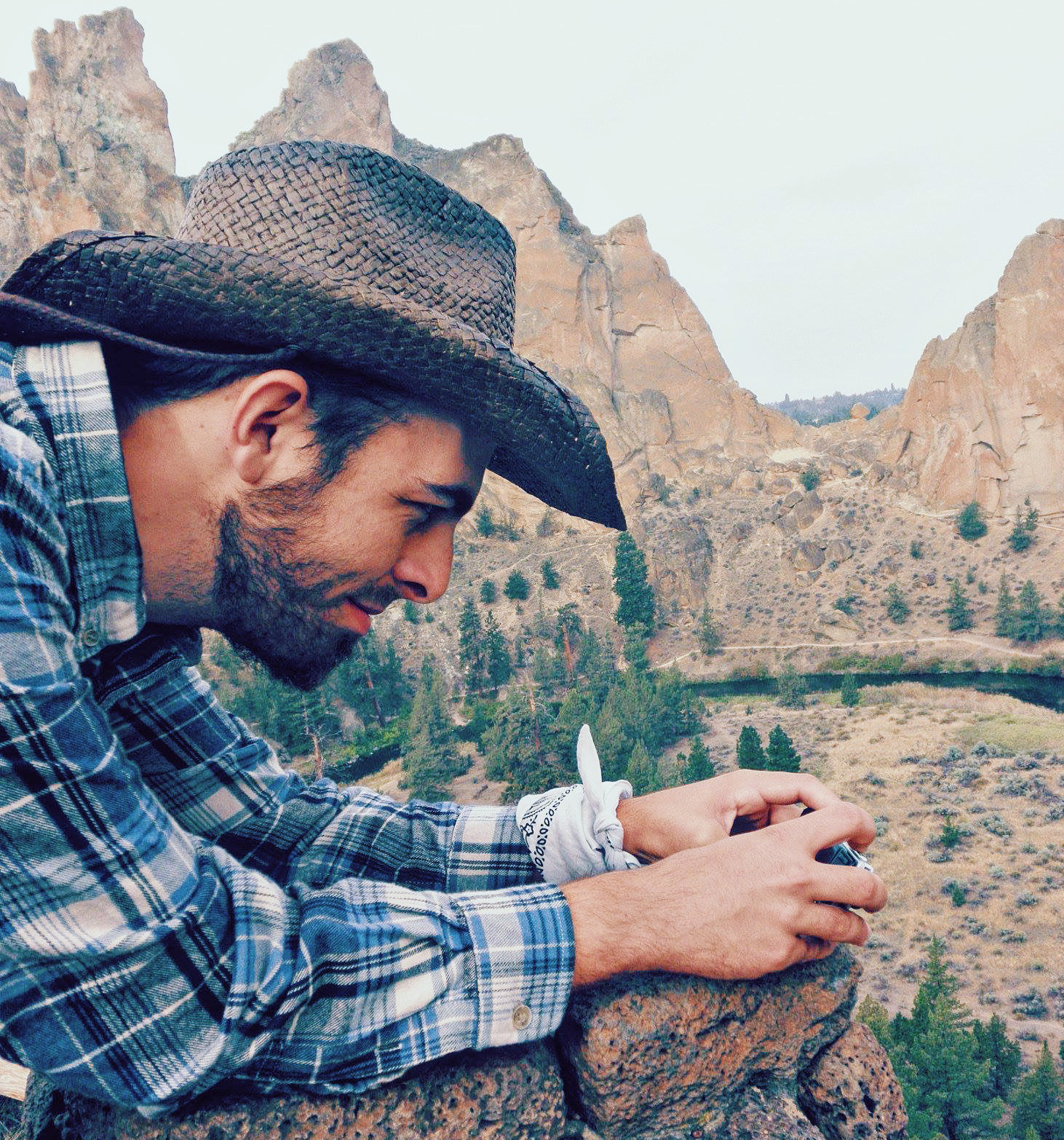 boyfriend at smith rock