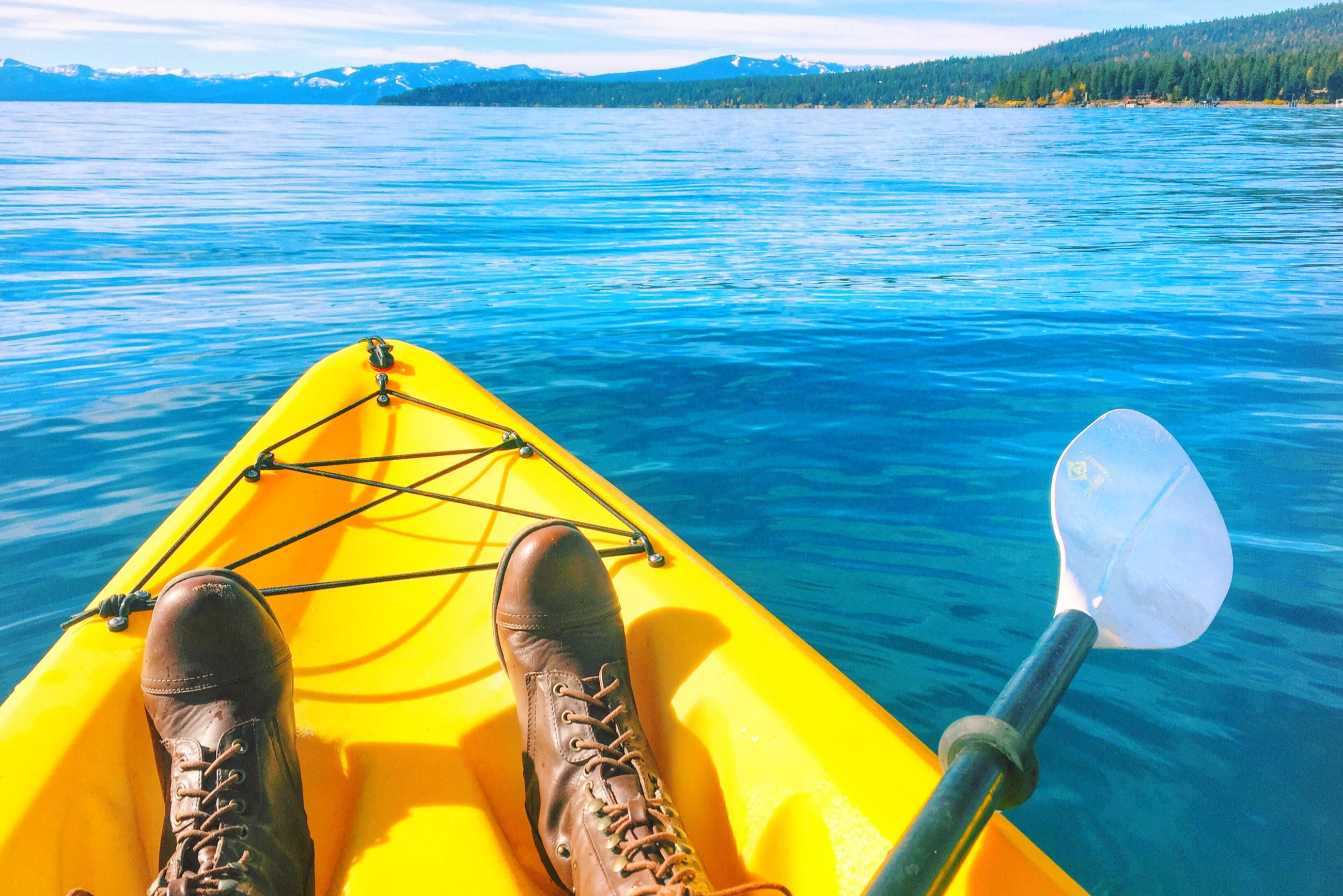 tahoe adventure company kayak tour