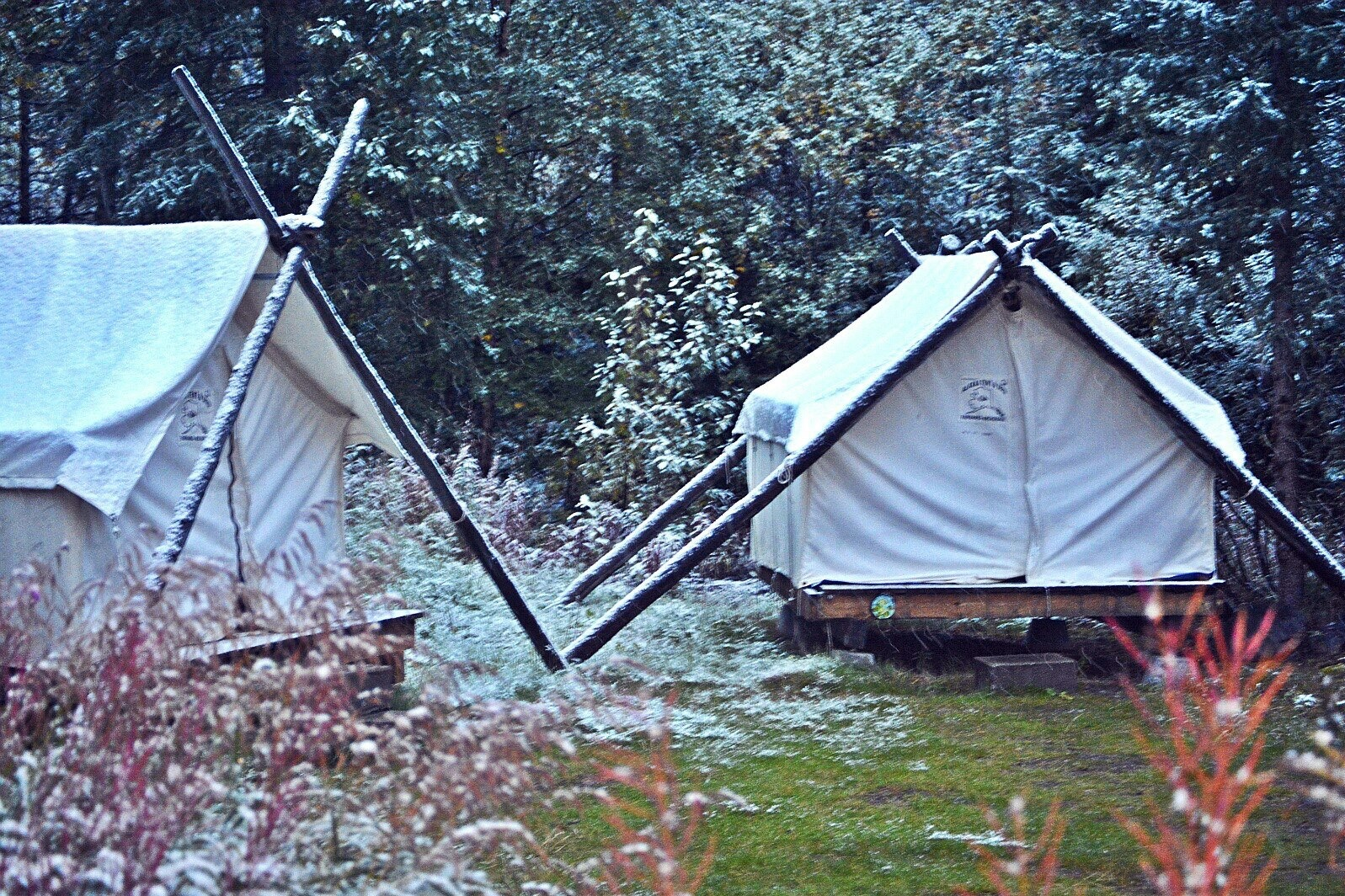 ... alaska wall tent gl&ing & Travel Alaska From Fairbanks To Anchorage - A Jaunt With Joy